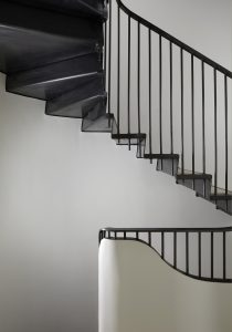 The Bird in Hand Hampstead: bespoke staircase