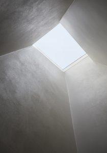 The Bird in Hand Hampstead: skylight