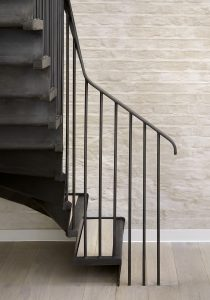 The Bird in Hand Hampstead: new staircase