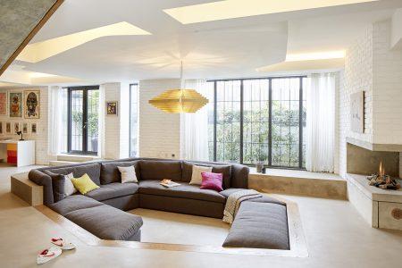Converted Garage: living area