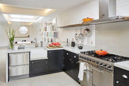 Converted Garage: kitchen area