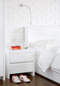 Converted Garage: bedroom detail