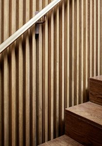 Converted Garage: staircase detail