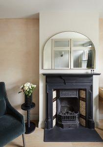 Wandsworth Cottage: historic fireplace