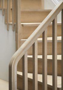 Wandsworth Cottage: stair details