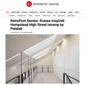 Hampstead Refurbishment: Architects' Journal website