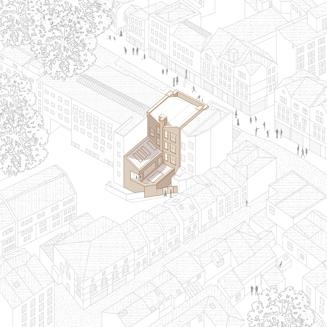Hampstead Refurbishment: context drawing