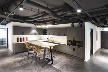 Coworking Hub: Küche
