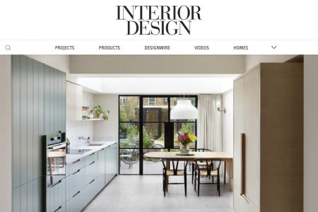 South London Cottage featured in Interior Design magazine