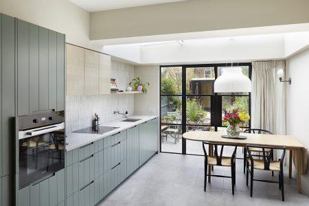 South London Cottage: kitchen