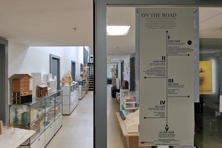 Corridor of Liechtenstein uni school of architecture